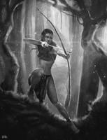 Spirit Huntress by Brandon-Ellis