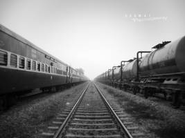 the tracks say it all by Saswat777