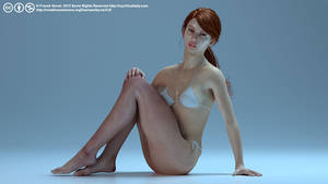 Bikini Pin Up Tamesis by myvirtuallady