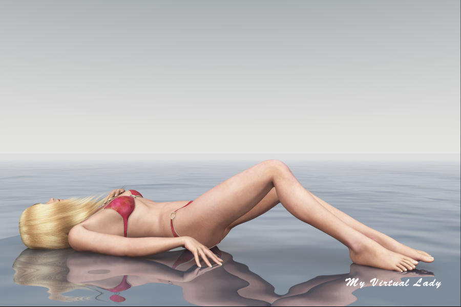 Victoria in the Fog - Lounging by myvirtuallady