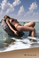 Victoria Lagoon - Reclining by myvirtuallady
