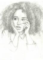 Female Portrait by EmberRabbit