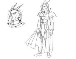 Avagdu- Character Design by EmberRabbit
