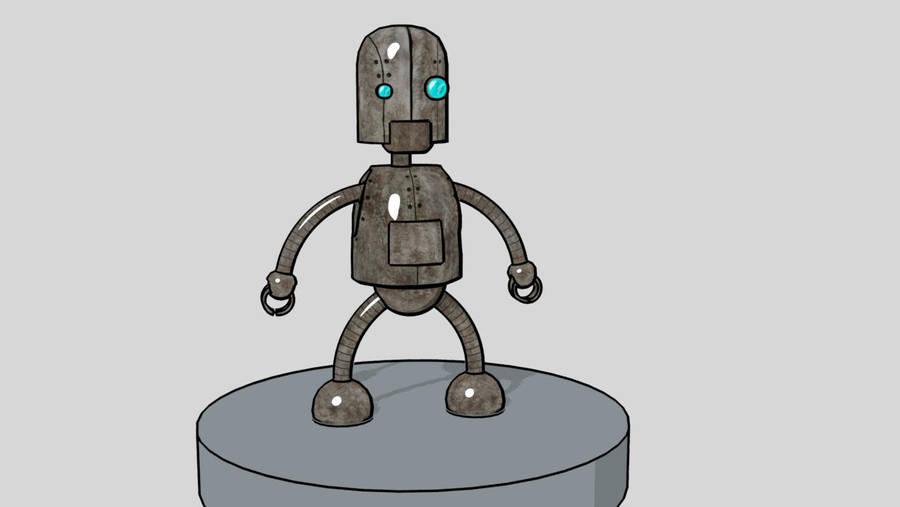 Little Robot by EmberRabbit
