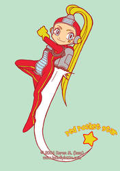 Red Rocket Star by kamladolly