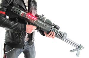 Mass Effect M-98 Widow Rifle - Full Shot by SketchMcDraw