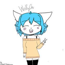 WolfyChu (my veraion) by Madkiwi12