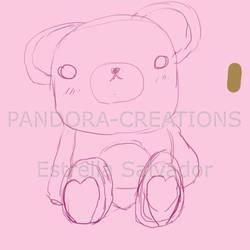 Osito Teddy Bear by Pandora-Creations