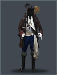 Jack Sparrow by SartoriaAlberani
