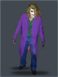 Joker - Heath Ledger by SartoriaAlberani