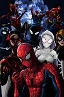 Spider-Verse by Feryu93