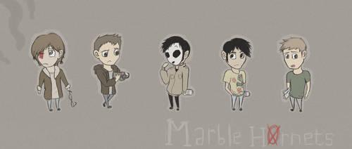 Marble Hornets by MoMoCookie