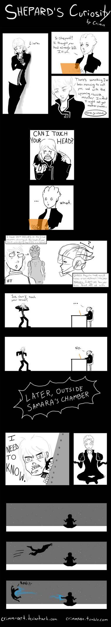Shepard's Curiosity by Crimm-Art