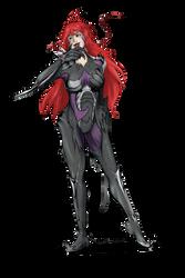 Witchblade - Masane redesign by Crimm-Art