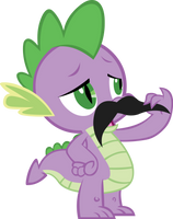 wonderful spikestache by chir-miru