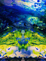 Cosmos In A Jar # 10: Glowing City by wildwoodstudio