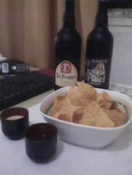Beer, nachos and computer nights by PKersey