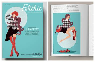 Boots off! Jiji Moffat on FETICHIC by BatMad