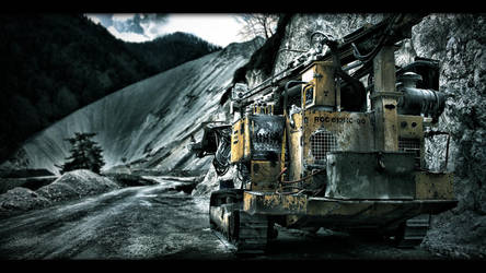 Bulldozer by fstrgar