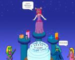 Happy Birthday Cloud by FireFoxgirl