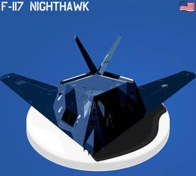 F-117 Nighthawk by Tardio