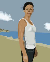 Evangeline Lilly by Tardio