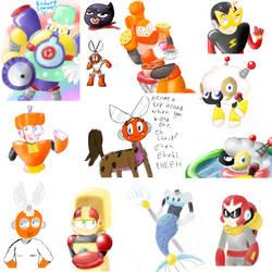 Megaman RM iScribble Dump by Koko-Kat