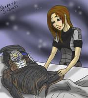 Sad Shepard by greenmamba5