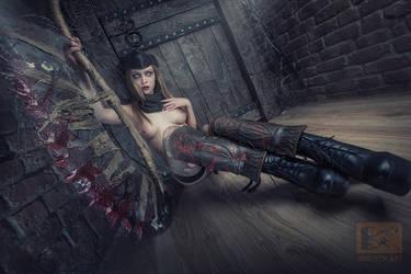 Bloodborn-ero cosplay by Vandych100