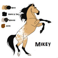 Mikey by horsegirl121