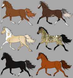 Adopts 6/6 Open by horsegirl121