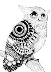 Owl by Ronacat