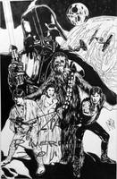 Shadow of a dark lord by Jedimike