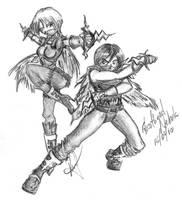 Nostale FanArt: Assassins by GhostHead-Nebula