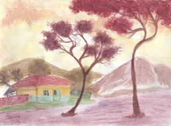Garnet Trees by GhostHead-Nebula