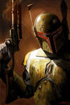 Boba Fett by LivioRamondelli