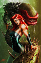Poison Ivy-color by LivioRamondelli