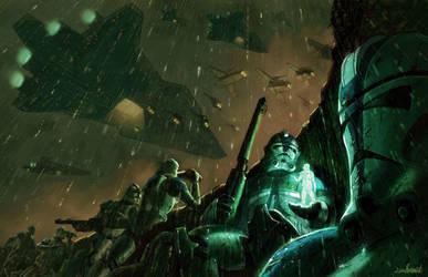 Clone War by LivioRamondelli