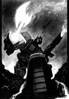 Optimus Prime-axe by LivioRamondelli