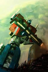 'Best of Optimus Prime' IDW by LivioRamondelli