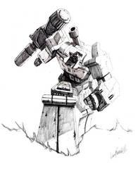 'Best of Megatron' IDW pencils by LivioRamondelli