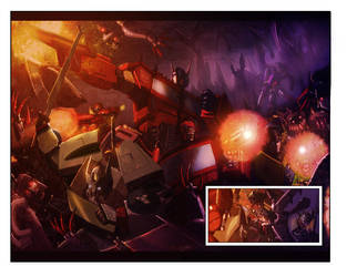Chaos issue 1 spread by LivioRamondelli