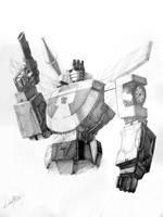 Wheeljack_bust by LivioRamondelli