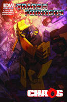 TF: Chaos part 3 cover B by LivioRamondelli