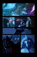 Megatron and Prime by LivioRamondelli