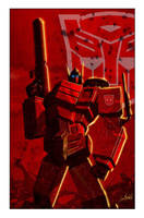Transformers: Autocracy 1 cover by LivioRamondelli