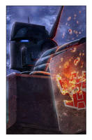 Transformers: Autocracy 7 Cover by LivioRamondelli