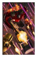 Transformers: Autocracy 11 Cover by LivioRamondelli