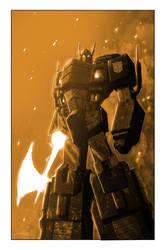 Transformers: Autocracy 12 Cover by LivioRamondelli