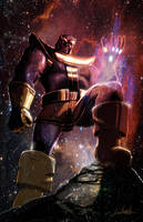 Thanos by LivioRamondelli